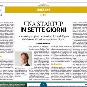 Una Start Up in sette giorni – Corriere della Sera