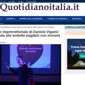 Quotidiano Italia– Il successo imprenditoriale di Daniele Viganò – Intervista